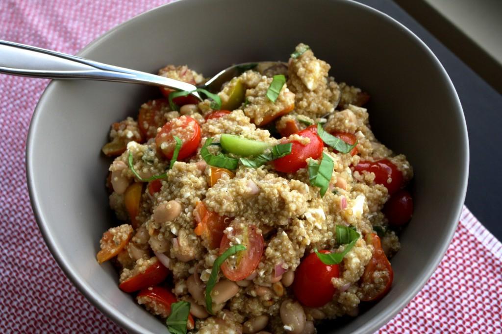 Bruschetta quinoa