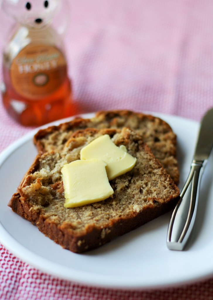 Almond Butter Banana Bread | Orchard Street Kitchen