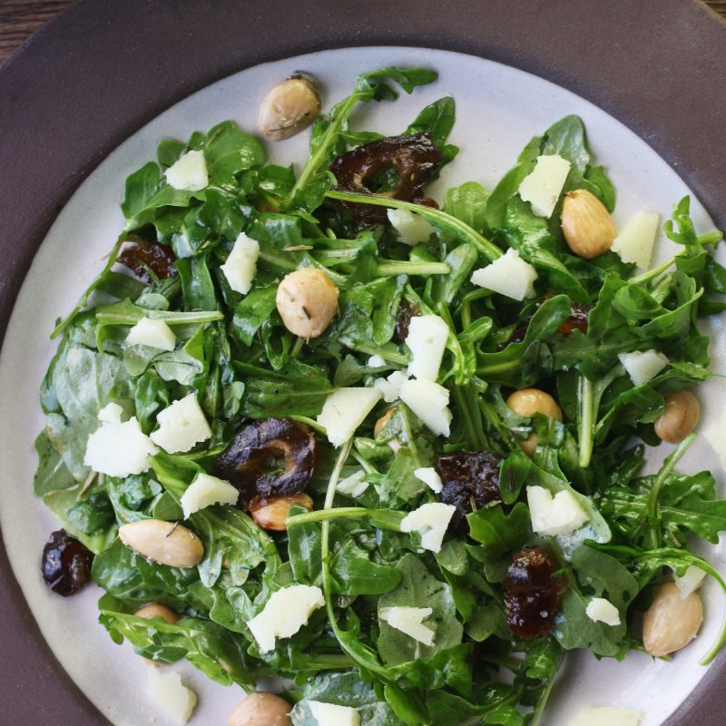 Manchego, Date and Almond Salad - Orchard Street Kitchen