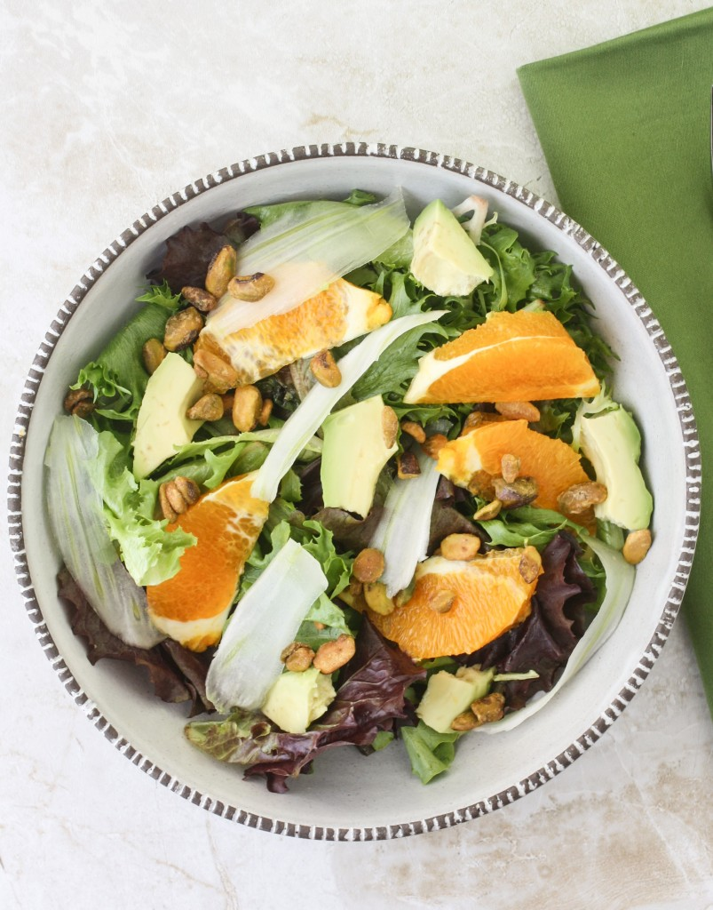 Fennel, Orange and Avocado Salad