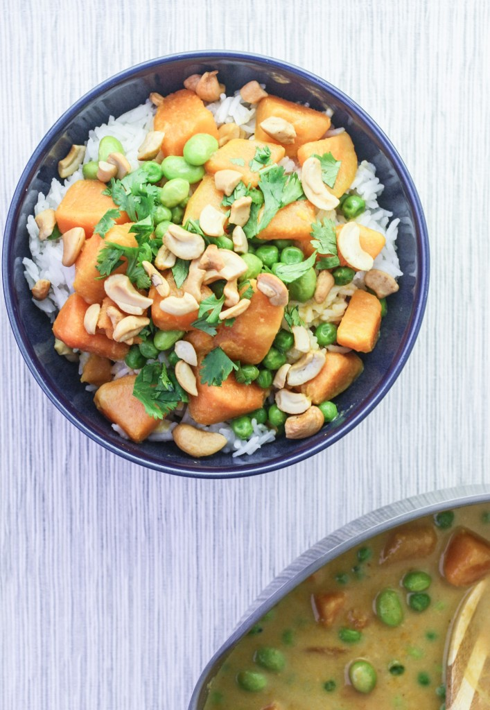 Sweet Potato Green Curry