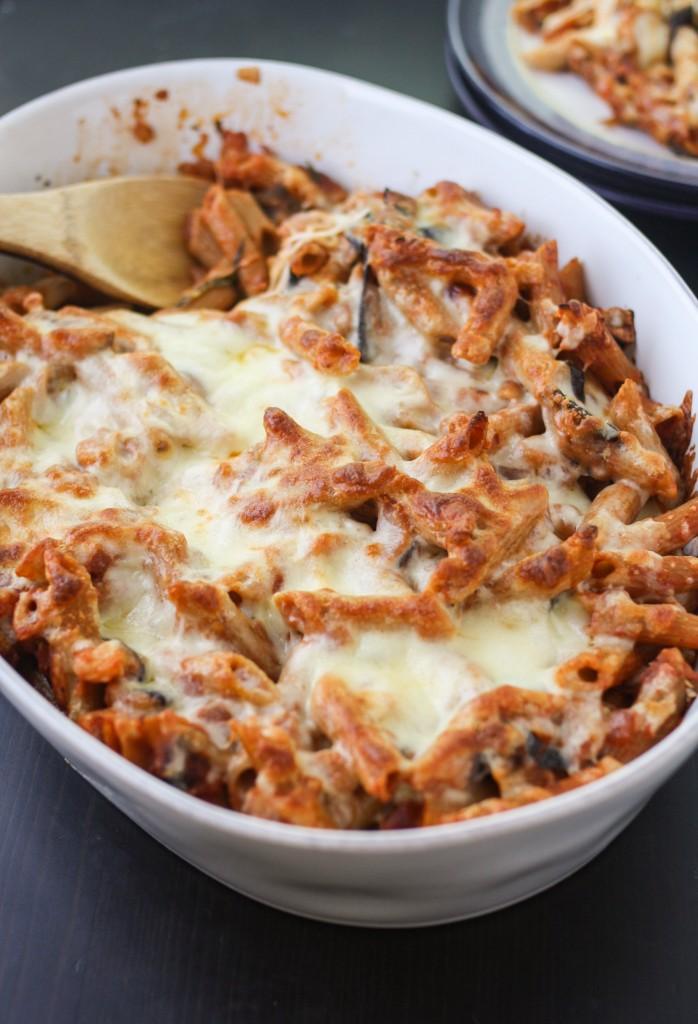 Baked Eggplant Pasta - Orchard Street Kitchen