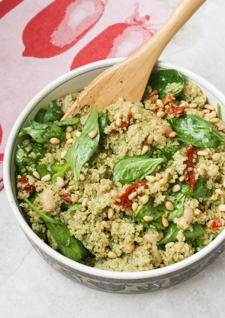 Pesto Quinoa Bowl