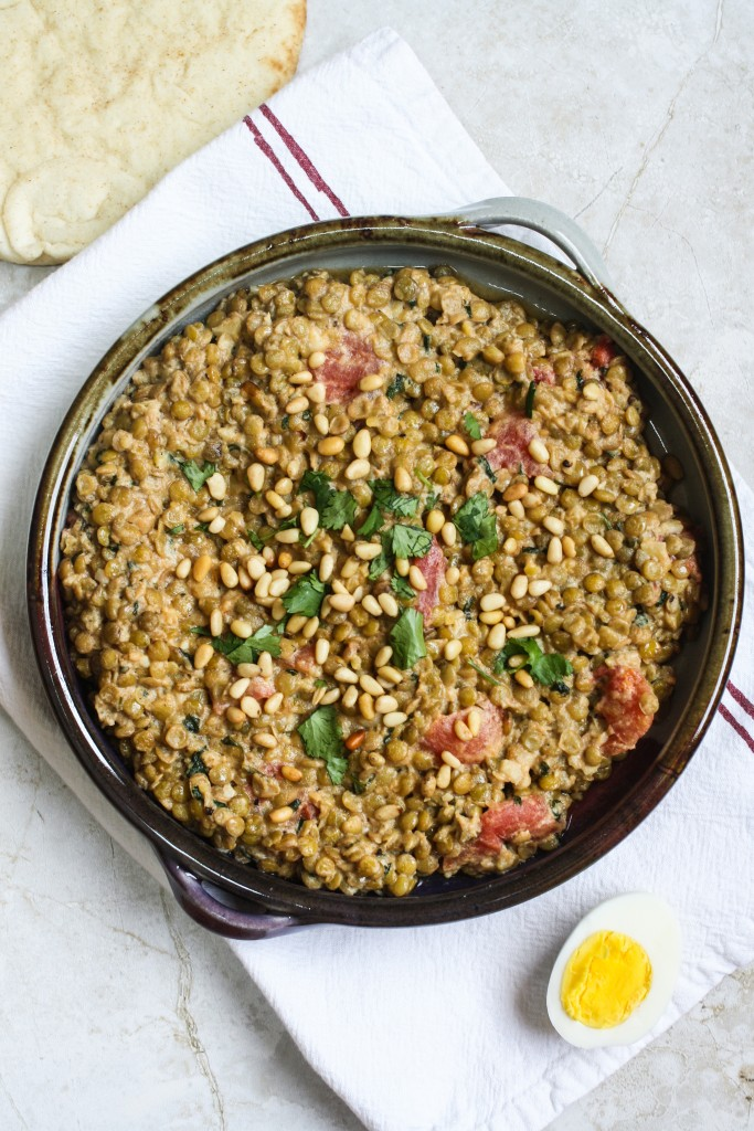 Lentils with Tahini