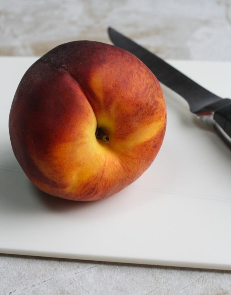 Peach Panzanella