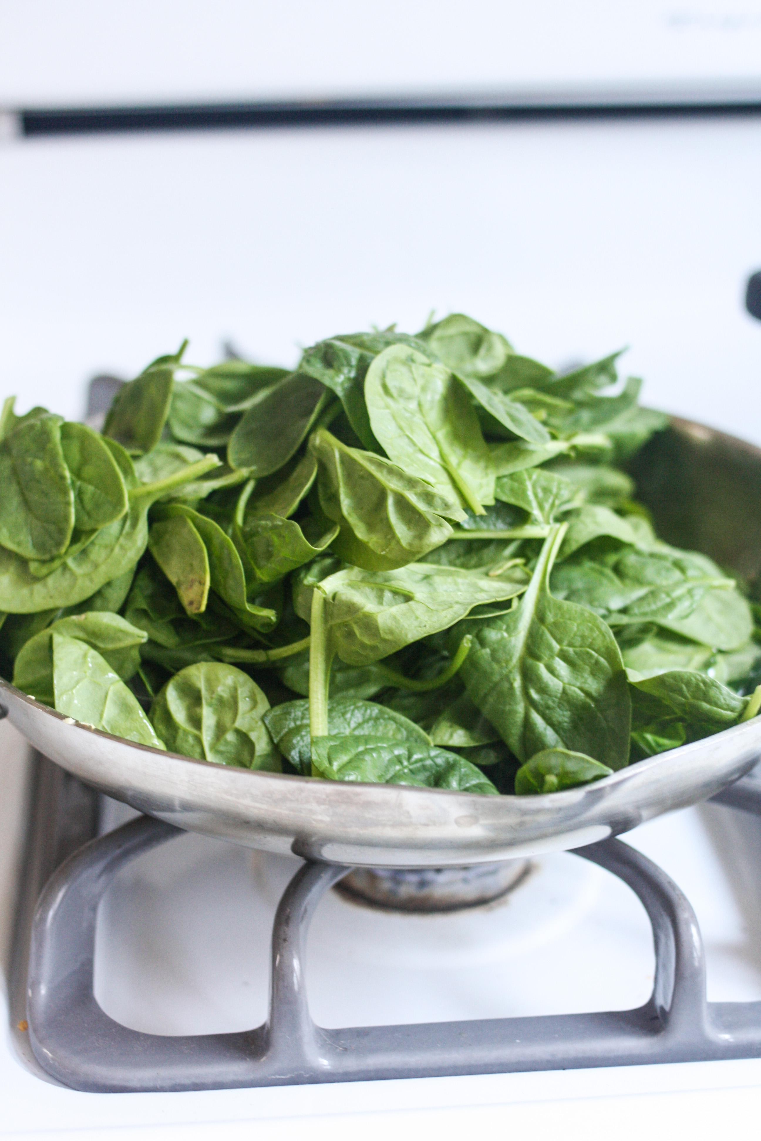 Catalan-Style Spinach - Orchard Street Kitchen