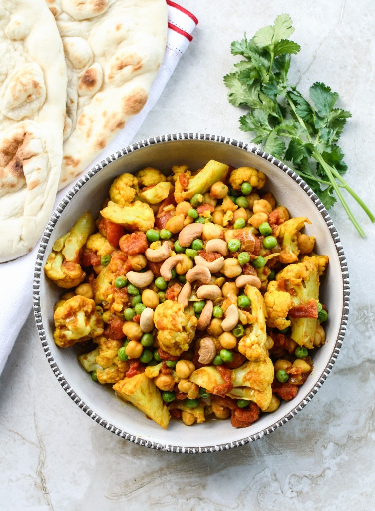 The Easiest Vegetarian Curry